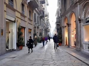 Via della Spiga Milano