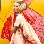 Un abito di Valentino della collezione P/E 1969, 2000 © Ruven Affanador