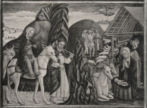 Antonio Rosso da Cadore viaggio a Betlemme