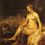 Rembrand - Betsabea al bagno