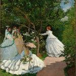 C. Monet - Donne in giardino, 1866