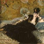 E. Manet - Donna con i ventagli (ritratto di Nina De Callias), 1873