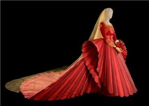 Roberto Capucci 'Sposa in Rosso', Palazzo Fortuny Venezia, foto Claudia Primangeli 2