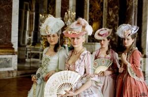 Marie Antoniette con le sue dame