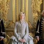 Marie Antoniette all'arrivo a Versailles