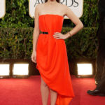 La Cotillard in Dior couture ai Golden Globes 2013