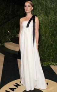 La Portman in Dior agli Oscar 2013