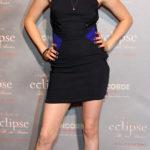 La Stewart in Versace nel 2010