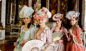 Marie Antoinette con le sue dame