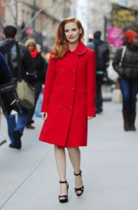 La Chastain in Michael Kors nel 2013