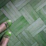 Scarpe verdi