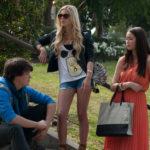 Marc, Chloe e Rebecca