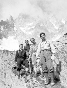 Walter Bonatti-Versante italiano del monte Bianco