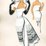 Jole Veneziani, Abito da cocktail, modello Veneziani, fine anni '40, Archivio Veneziani - Fondazione Bano