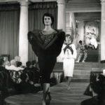 Sfilata a Palazzo Grassi, Venezia, 1957, Archivio Veneziani - Fondazione Bano