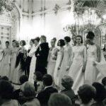 Sfilata nella Sala Bianca, Firenze, 1964, Archivio Veneziani - Fondazione Bano