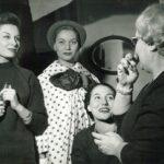 Jole Veneziani in atelier, anni '50, Archivio Veneziani - Fondazione Bano