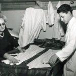 Jole Veneziani in atelier, fine anni '50, Archivio Veneziani - Fondazione Bano