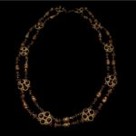 ANONYMOUS- Big Necklace with Black Jet