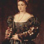 Isabella D'Este presunto ritratto di Tiziano