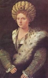 Isabella D'Este - Tiziano