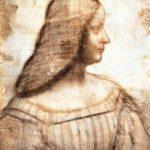 Isabella D'Este - Leonardo da Vinci