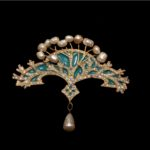 LA NAVE VA-Brooch with Pearls