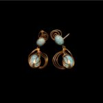 LA NAVE VA-Earrings with Torquaise