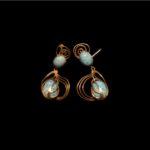 LA NAVE VA-Earrings with Torquaise