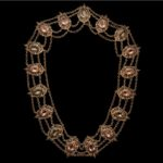MARQUISE-Big Necklace with Amethyst