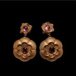 MARQUISE-Earrings with amethyst
