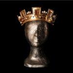 THE BORGIAS-Giulia Farnese's crown with pearls and topaz