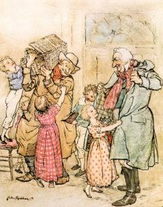 Arthur Rackham Canto di Natale 1915