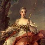 J.M. Nattier. Madame de Maison Rouge 1756