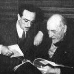 Edoardo De Filippo e Luigi Pirandello