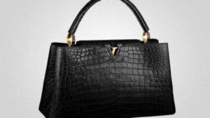 Louis Vuitton la Crocodile Capucines