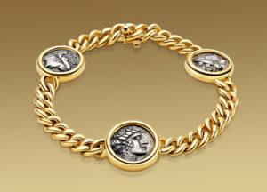 Collana Bulgari della collezione Monete