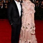Chiwetel Ejiofor e Sari Mercer courtesy Dolce&Gabbana