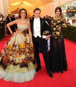 Coco e Bianca Brandolini D'Adda courtesy Dolce&Gabbana