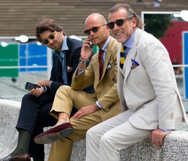 IMORE - Pitti 86 presenta il nuovo gentleman dandy vestito in blazer 86151ee40b9