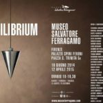 """Locandina """"Equilibrium"""" Museo Ferragamo"""