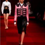 Collezione Dolce e Gabbana P/E 2015.
