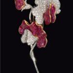 Fulco di Verdura spilla in platino con rubini e diamanti 1950 ph Tom DuBrock