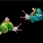 Fulco di Verdura spille con smalti diamanti rubini e smeraldi 1968