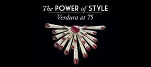 "Locandina Mostra ""The Power of Style: Verdura at 75"""
