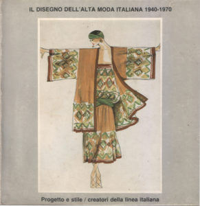 AA.VV IL Disegno dell'Alta moda Italiana
