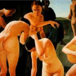 Felice Casorati - Nudi di donne