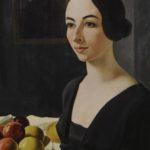 Felice Casorati - Ritratto di donna