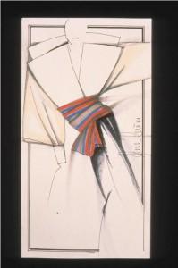 Disegno per Sailor Glam P/E 1982 cortesy Fondazione Ferré