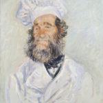 Monet - Le chef Père Paul 1882